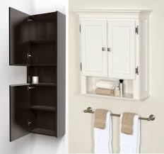 Small Bathroom Storage Cabinets Bathroom Design And Decoration Ideas Using White Wood Door