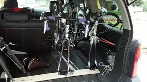 nissan accessories bike rack diy bike mount for utili track second generation nissan xterra