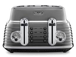 4 Slice Toaster And Kettle Set Scultura 4 Slice Toaster Toasters Delonghi Australia