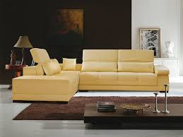 butter yellow leather sofa butter yellow sectional sofa leather fabrizio design butter