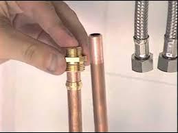 raccord tuyau robinet cuisine la pose d un mélangeur ou d un mitigeur sans soudure