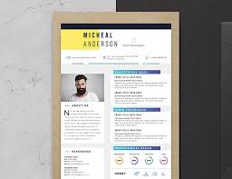 10 fresh free resume design templates 2017 available on dropbox