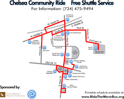 Chelsea Michigan Map by Western Washtenaw Area Value Express Wave I Serving The Chelsea