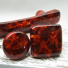 Kitchen Cabinet Hinges And Handles Red Dichroic Art Glass Kitchen Cabinet Hardware Handles Pull Knobs