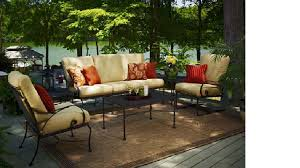 Wrought Iron Patio Furniture by 50 Off Meadowcraft Monticello Deep Seating Wrought Iron Patio
