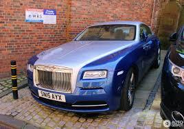 rolls royce wraith blue rolls royce wraith 3 may 2017 autogespot