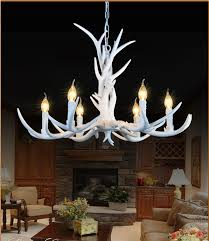 Country Style Chandelier Table L Ideas Deer Antler Table Ls Heads American