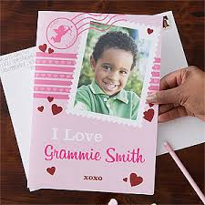 custom valentines day cards personalized s day cards one photo jumbo