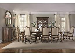 bernhardt dining room sets bernhardt montebella 350 221 dining table with stacked feet baer s