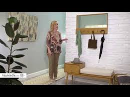 belham living finn mid century modern wall coat rack product