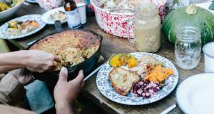 how to throw an outdoor thanksgiving the menu southern kitchen
