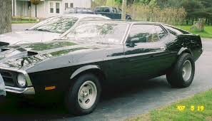 Mustang Fastback Black Black 1971 Ford Mustang Fastback Mustangattitude Com Photo Detail