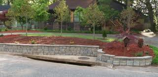 building a diy block retaining wall today u0027s homeowner