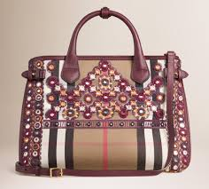 Burberry Home Decor by Bag Of The Week Burberry Banner Bag With Mirror Embroidery