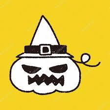 halloween pumpkins cartoons halloween pumpkin doodle drawing u2014 stock vector hchjjl 71403677
