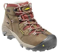 womens work boots keen s detroit mid steel toe work boots sportsman s warehouse