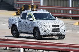 spied mercedes benz u201cx class u201d pickup spotted track testing for