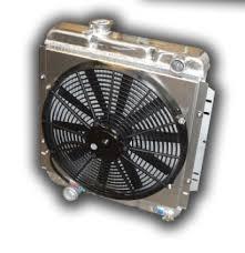1964 66 ford mustang 302 v8 aluminum radiator w 3300 cfm 17