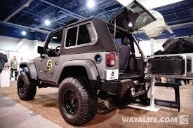 jeep wrangler 2 door hardtop 2014 sema show recap