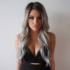 silver hair extensions hair color trends 2017 2018 highlights so happy to my