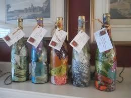 Wine Bottle Home Decor Wine Bottle Light Birthday Gift Idea Custom Color Decoupage Wine