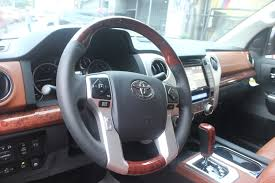 toyota land cruiser interior 2017 2017 toyota tundra 1794 edition sunset bronze mica