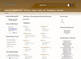 php link directory template archive list of templates for