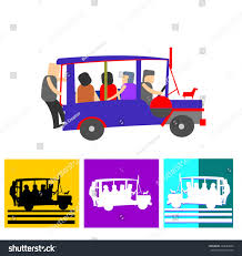 jeep philippine philippine jeep icon stock vector 244989643 shutterstock
