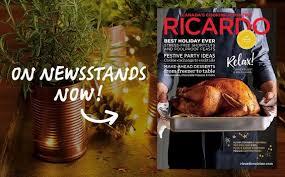 cuisine de ricardo radio canada ricardo cuisine foodiedaysofchristmas contest