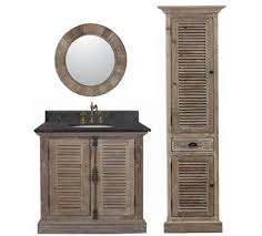 Legion  Inch Rustic Single Sink Bathroom Vanity WK Marble Top - 36 inch single sink bathroom vanity