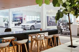 mercedes showroom interior concept design senab