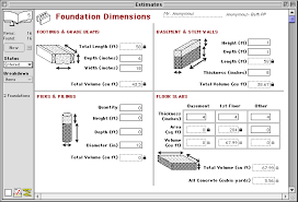 types of basement goldenseal construction estimating software reference foundation