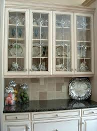 Glass Inserts For Kitchen Cabinet Doors Unique 10 Kitchen Cabinets Glass Inserts Design Decoration Of