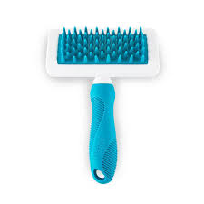 carding comb yes ph cat and dog carding comb with rubber bristles tiendanimal