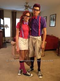 Halloween Costumes Nerd Cutest Nerds Couple Costume Costumes Nerd Costumes