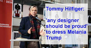 siege hilfiger with melania siege from the left hilfiger says he would be