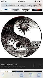 collection of 25 yin yang sun moon stencil