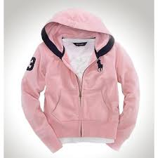 004c buy cheapest polo ralph lauren pink french rib full zip
