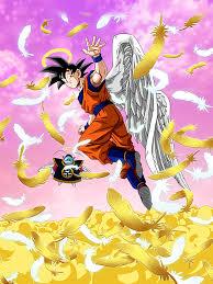 message goku angel dragon ball dokkan