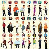 Different Meme Faces - 33 vector meme faces vector image clipart me