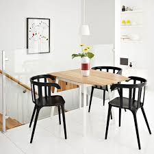Ikea Ps 2012 Drop Leaf Table In Bamboo White Seats 2 4 With Ikea