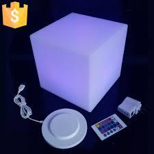 light up cubes online shop 20cm diameter led cube stool bar stools light up cube