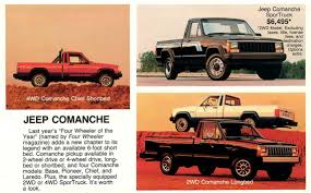 jeep comanche jeep comanche review history features specs design suspension
