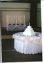 Wedding Arches Using Tulle Cake Table Decor Balloons Galore Weddings Parties U0026 More