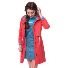 rayna waterproof parka coat womens raincoats lighthouse