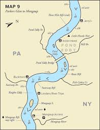 Delaware rivers images Paddler 39 s guide to the delaware river inside jpg