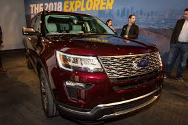 Ford Explorer Exhaust - 2018 ford explorer preview news cars com