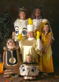 halloween costumes for family of 5 beauty and the beast