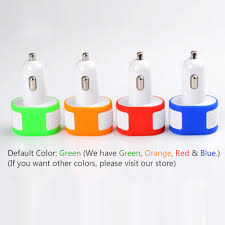 Car Phone Charger With Usb Port Eincar Online Usb Car Travel Charger Cigarette Lighter Adapter