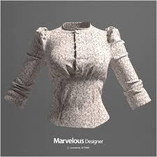 3d Fashion Design Software Marvelous Designer Shirt Workshop U2013 How To Make A Womens Formal